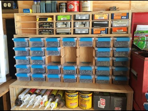 Multipurpose Garage Storage Station