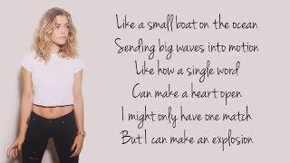 Fight Song - Rachel Platten (Lyrics)