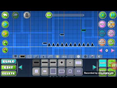 Geometry Dash Tutorials | Moving blocks and invisible jump rings!
