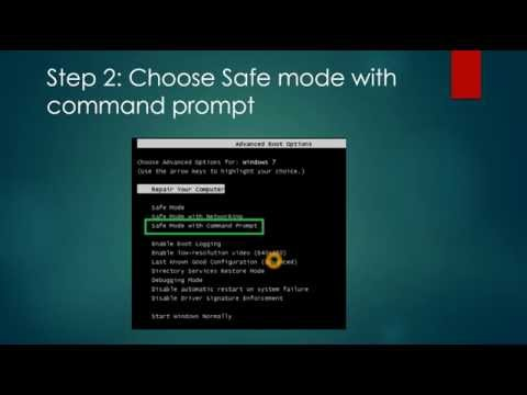 How To Fix Windows 7 White Screen Virus Problem?