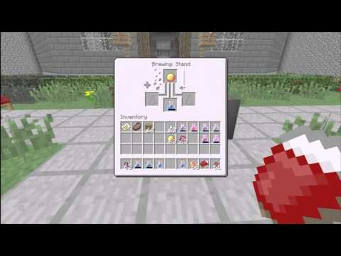 How To Make Potions   Minecraft Xbox 360 Edition