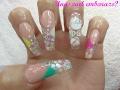 Uñas Para Baby Shower Uñas En El Embarazo Babyshower Nails Luliz Nails