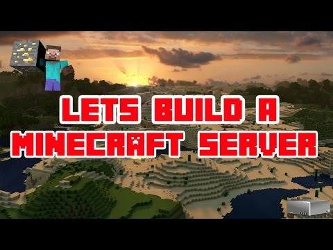 Lets Build A Minecraft Server| Ep. 1: Building The Server Hub