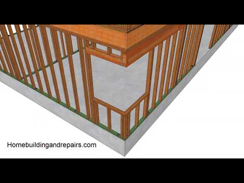 How To Frame Corner Window Without Corner Post – Home Building