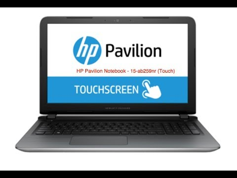 How to Diagnose your HP Pavilion Notebook - 15-ab259nr (Touch) Laptop