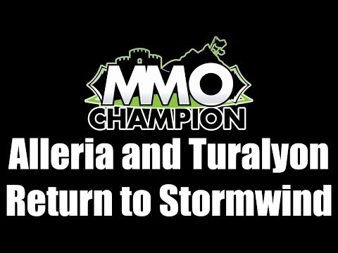 Patch 7.3.5 - Alleria and Turalyon Return to Stormwind