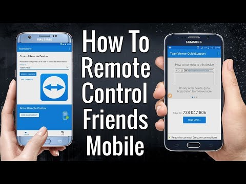 Control your friend's ANDROID PHONE from YOUR PHONE without TOUCHING IT