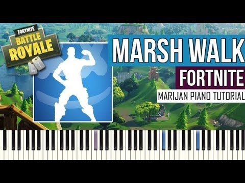 How To Play: Fortnite - Marsh Walk | Piano Tutorial