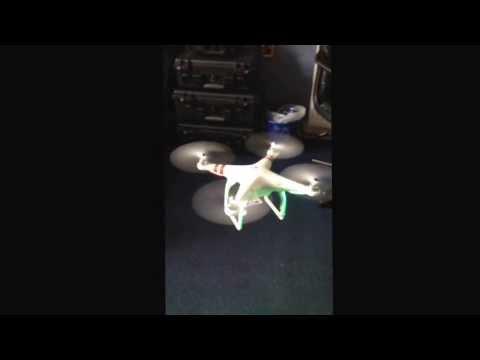 Test flight of new GoPro filming UAV