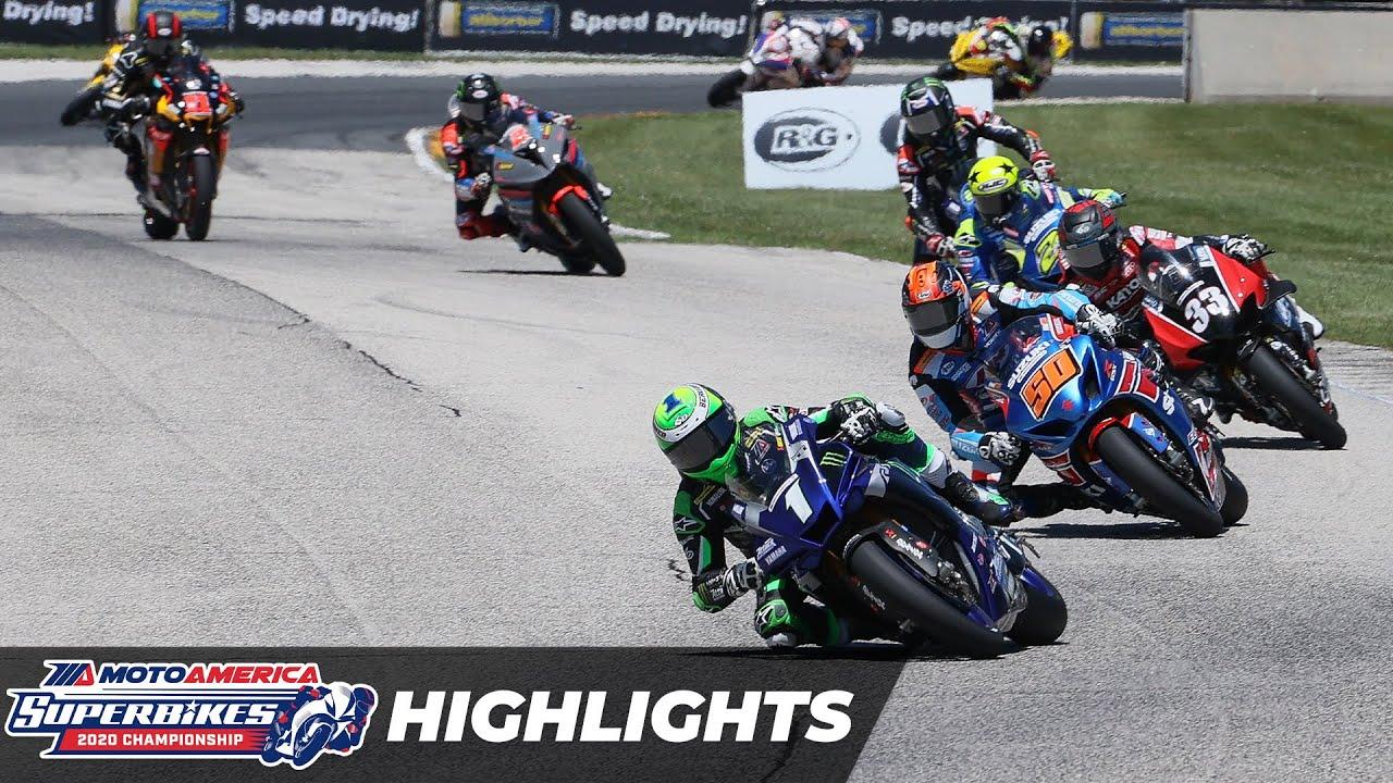 HONOS Superbike Race 1 Highlights at Road America 2