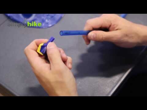 How to Replace a Camelbak Bite Valve - Micro Advice Video Series - www.simplyhike.co.uk