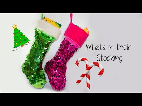 Whats in my kids stockings! 2016