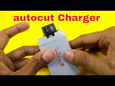 Make a Auto cut charger rechargeable led light at home