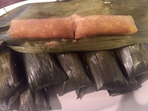 How To Make Suman Cassava/kamoteng Kahoy with filling
