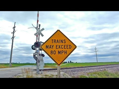 Amtrak Chicago-St. Louis High Speed Rail at Dwight, IL