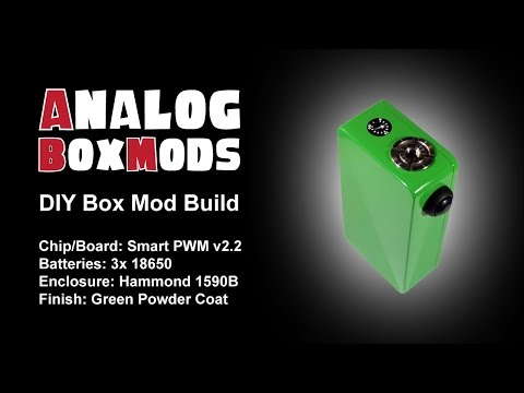 Smart PWM v2.2 DIY Box Mod Build