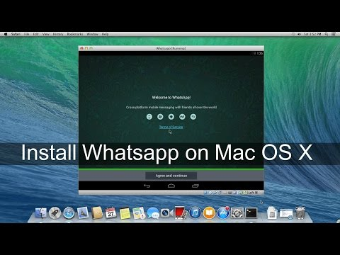 How To Install Whatsapp on Mac Without Bluestacks