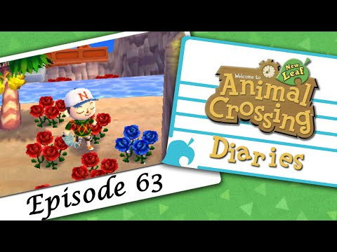 Animal Crossing: New Leaf Diaries :: Episode 063 - Blue Roses!!!
