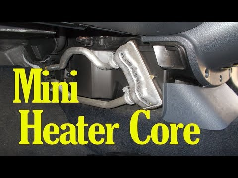 How to change the heater matrix / heater core on a Mini
