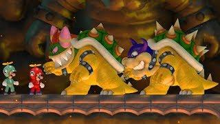 New Super Mario Bros Wii - Rookie and Bowletta Boss Battles