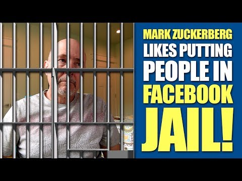 Mark Zuckerberg Gets A Kick Out of Putting People in Facebook Jail, Really?