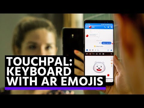 TouchPal brings AR Emojis to every smartphone