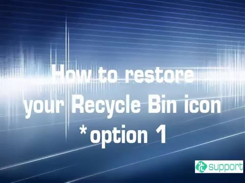 Missing Recycle Bin in Windows 10? Finding the Recycle Bin