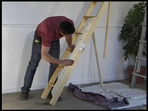 Fitting a Stira attic stairs loft ladder