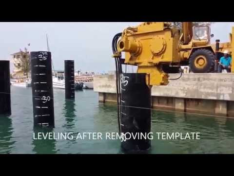 Marine Pile Driving - Marine Construction