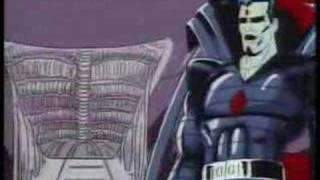 X-Men TAS - Reunion part 1 - Cyclops Vs Nasty Boys