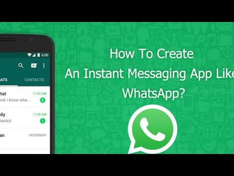 How to Make A Own App Like WhatsApp _ 2018