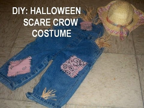 DIY: Jaslene Scare Crow Halloween Costume