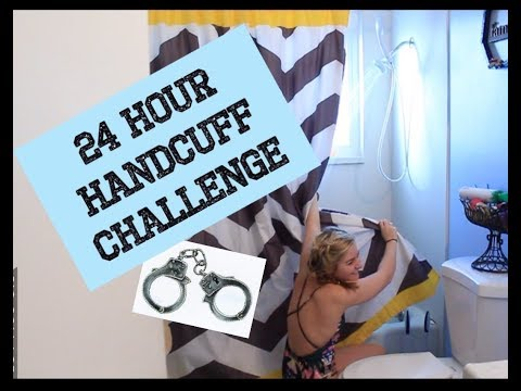 Handcuffed to my husband for 24 hours challenge