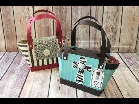 Easy Paper Purse One Sheet of 12x12 Cardstock