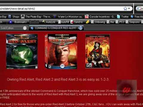 Download C&C Red Alert For Free- Command & Conquer wow (ENDED)