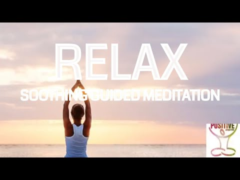 Instantly Relax - Meditation 10 Minutes - Soothing Talkdown - Soft Female Voice - Positive Energy