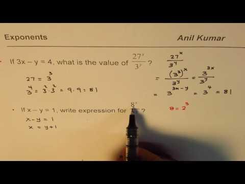 SAT Exponent Practice Questions