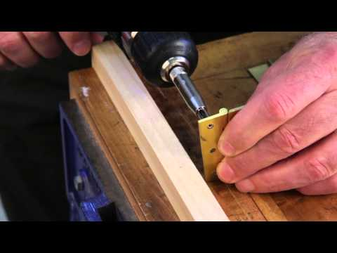 Installing Continuous Hinges by Paul Anthony