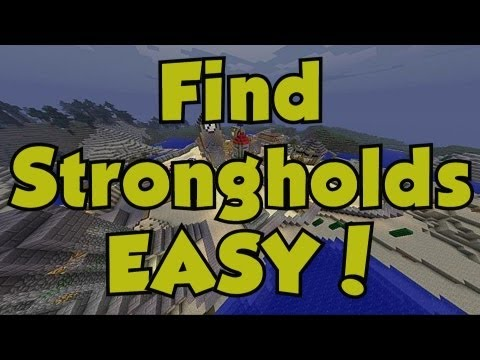 Minecraft 360 | Best Way to Find Strongholds, Mineshafts, Ravines and Villages | Amazing Seed