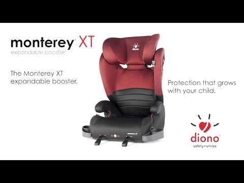 Diono Monterey XT Expandable Booster - US English