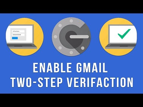 Google Authenticator App : Enable Two-Step Verification in Gmail (2018)