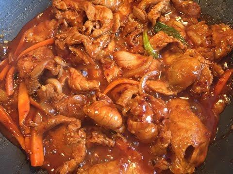Daeji Bulgogi (Korean Spicy Marinated Pork)