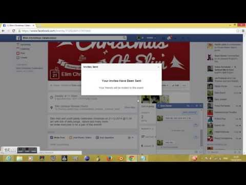 Facebook Updated INVITE ALL Event Trick 2015