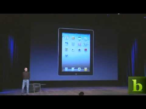 Apple's CEO Steve Jobs Unveils iPad 2