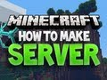 How to make a Minecraft Server and Set a Texture Pack ( Vanilla Tutorial )