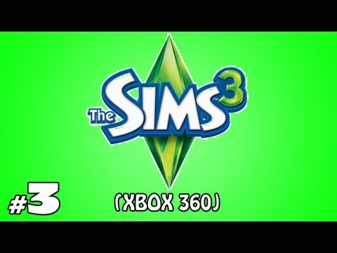 The Sims 3 [Xbox 360]: Let's Play! Ep.3 - I Hate Mondays!