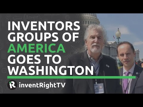 Inventors Groups of America Goes to Washington
