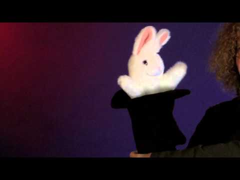 Folkmanis® Rabbit In Hat Puppet Demo