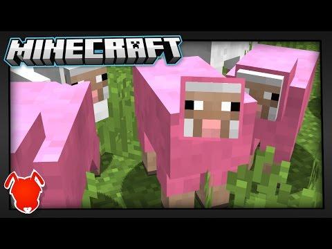 MINECRAFT WORLD SPAWNS FULL of PINK SHEEP?