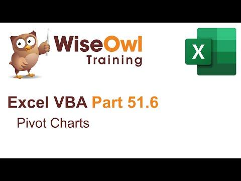 Excel VBA Introduction Part 51.6 - Pivot Charts
